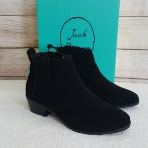 New Jack Rogers Liddy Waterproof Suede Booties